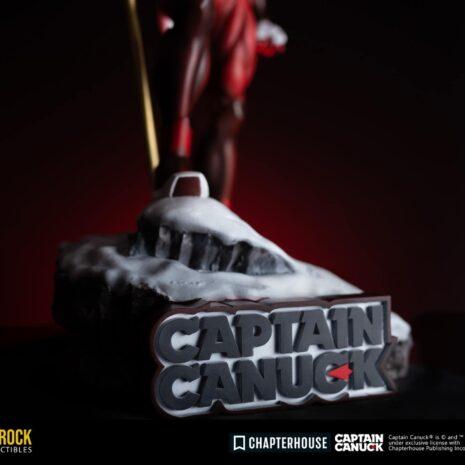 captain canuck bedrock statue base