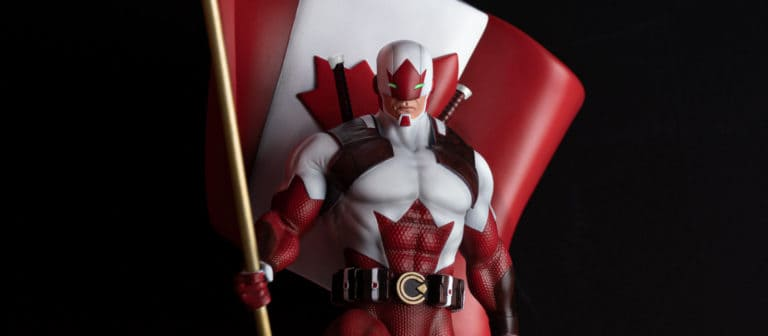 Bedrock Collectibles Announces Captain Canuck Statue